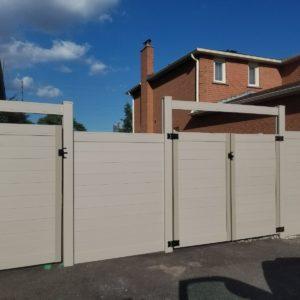 pvc fence canada